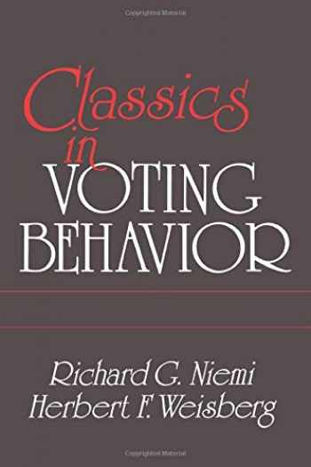 9780871876515-0871876515-Classics in Voting Behavior