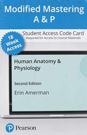 9780136780502-0136780504-Modified Mastering A&P with Pearson eText -- Access Card -- for Human Anatomy & Physiology (18-Weeks)