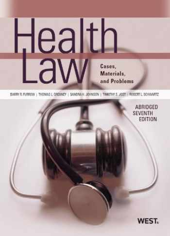 9780314265128-0314265120-Health Law (American Casebook Series)(Abridged)