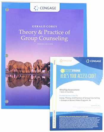 9780357262122-0357262123-Bundle: Theory and Practice of Group Counseling, Loose-leaf Version, 9th + MindTap Counseling with Groups in Action Video, 1 term (6 months) Printed Access Card