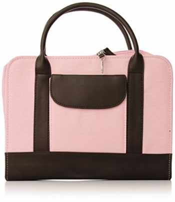 9780310818625-0310818621-Bible Study Organizer Pink with Leather-Look Accents Book and Bible Cover