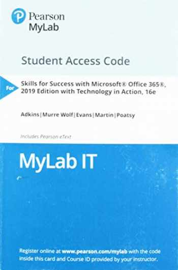 9780135490280-0135490286-MyLab IT with Pearson eText -- Access Card -- for Skills 2019 with Technology in Action