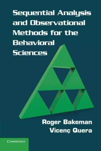 9780521171816-0521171814-Sequential Analysis and Observational Methods for the Behavioral Sciences