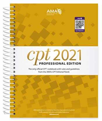 9781640160491-1640160493-CPT 2021 Professional Edition (CPT / Current Procedural Terminology (Professional Edition))