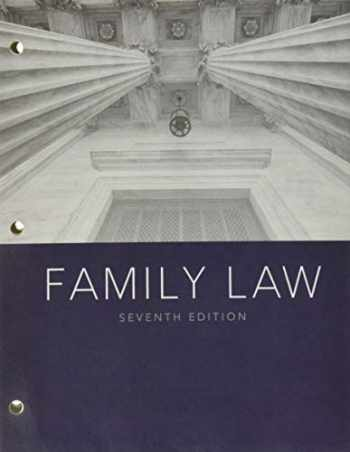9781337917605-1337917605-Family Law, Loose-leaf Version (MindTap Course List)