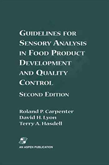 9780834216426-0834216426-Guidelines for Sensory Analysis in Food Product Development and Quality Control