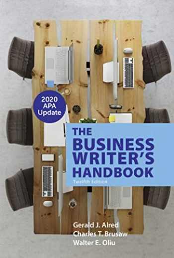 9781319361761-1319361765-The Business Writer's Handbook with 2020 APA Update