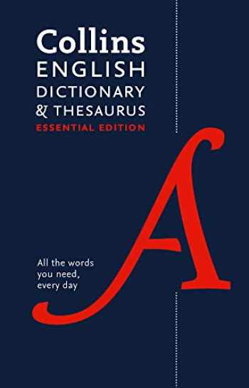 9780008309404-000830940X-Collins English Dictionary and Thesaurus Essential edition: All-in-One Support for Everyday Use (Collins Essential Editions)