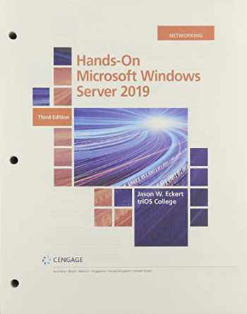 9780357436165-0357436164-Hands-On Microsoft Windows Server 2019, Loose-leaf Version (MindTap Course List)