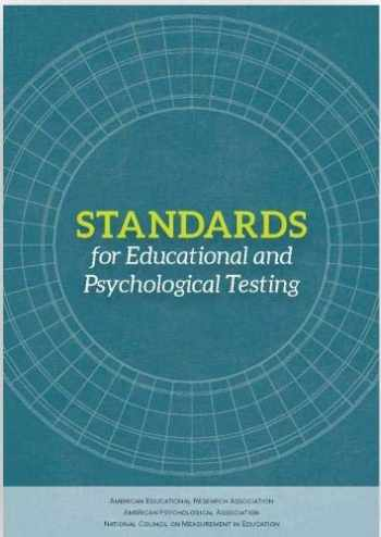 9780935302356-0935302352-Standards for Educational and Psychological Testing