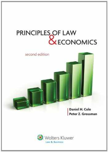 9781454803959-1454803959-Principles of Law and Economics, Second Edition (Aspen College)