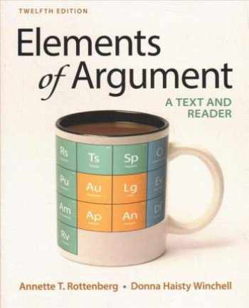 9781319354022-1319354025-Elements of Argument 12e & Documenting Sources in APA Style: 2020 Update