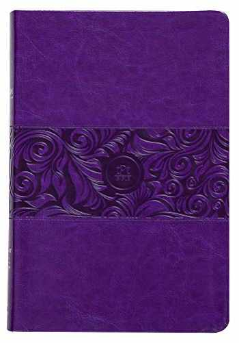 9781424558230-1424558239-The Passion Translation New Testament, Violet, Large Print (Faux Leather) – In-Depth Bible with Psalms, Proverbs, and Song of Songs, Makes a Great Gift for Confirmation, Holidays, and More