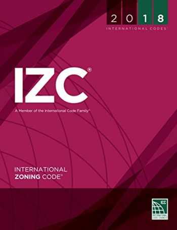 9781609837556-160983755X-2018 International Zoning Code (International Code Council Series)