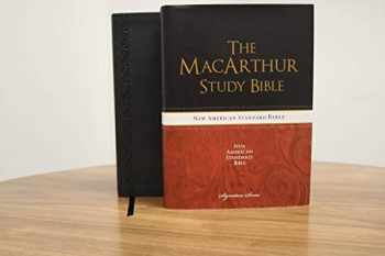9781401679101-1401679102-The NASB, MacArthur Study Bible, Leathersoft, Black, Thumb Indexed: Holy Bible, New American Standard Bible (Signature)
