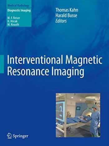 9783642207051-3642207057-Interventional Magnetic Resonance Imaging (Medical Radiology)