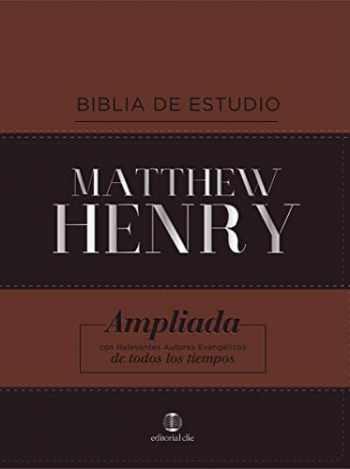 9788482679235-8482679236-RVR Biblia de Estudio Matthew Henry, Leathersoft, Clásica (Spanish Edition)