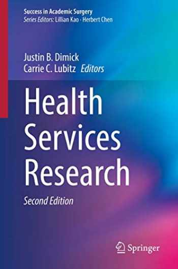 9783030283568-3030283569-Health Services Research (Success in Academic Surgery)