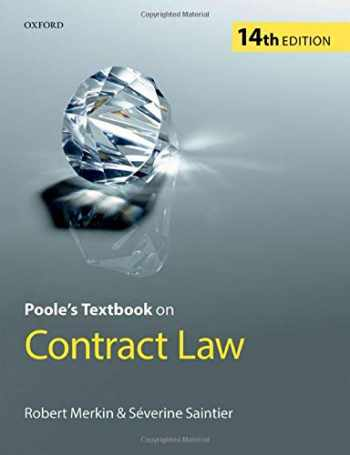 9780198816980-0198816987-Poole's Textbook on Contract Law