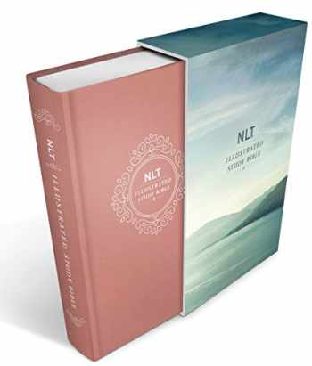 9781496428257-1496428250-Illustrated Study Bible NLT Deluxe, Deluxe Linen Edition (Hardcover, Pink)