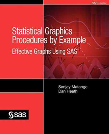 9781607647621-1607647621-Statistical Graphics Procedures by Example: Effective Graphs Using SAS