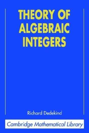 9780521565189-0521565189-Theory of Algebraic Integers (Cambridge Mathematical Library)
