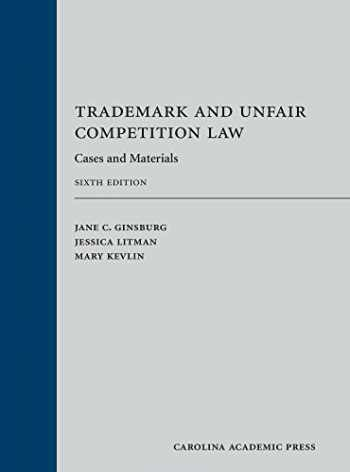 9781531001148-1531001149-Trademark and Unfair Competition Law: Cases and Materials