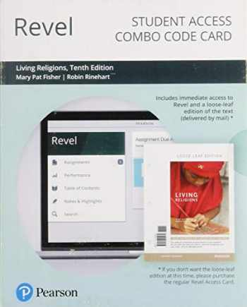 9780135192894-0135192897-Revel for Living Religions -- Combo Access Card