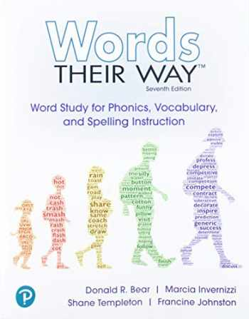 9780135204917-0135204917-Words Their Way: Word Study for Phonics, Vocabulary and Spelling Instruction (7th Edition)