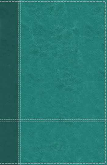 9780310449751-0310449758-NIV, Personal Size Reference Bible, Large Print, Leathersoft, Teal, Red Letter, Thumb Indexed, Comfort Print
