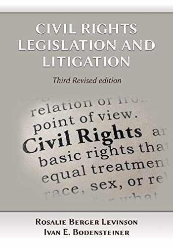 9781600425035-1600425038-Civil Rights Legislation and Litigation, Third Edition