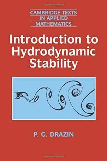 9780521009652-0521009650-Introduction to Hydrodynamic Stability (Cambridge Texts in Applied Mathematics)