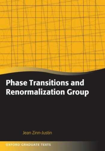 9780199665167-0199665168-Phase Transitions and Renormalization Group (Oxford Graduate Texts)
