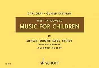 9783795795092-3795795095-Music for Children/Murray Ed.: Volume 4: Minor - Drone Bass-Triads