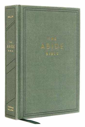 9780785226611-0785226613-NKJV, Abide Bible, Cloth over Board, Green, Red Letter, Comfort Print: Holy Bible, New King James Version