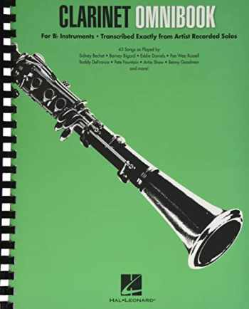 9781540000491-1540000494-Clarinet Omnibook for B-flat Instruments: Transcribed Exactly from Artist Recorded Solos