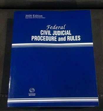 9781539215479-1539215474-2020 Federal Civil Judicial Procedure and Rules