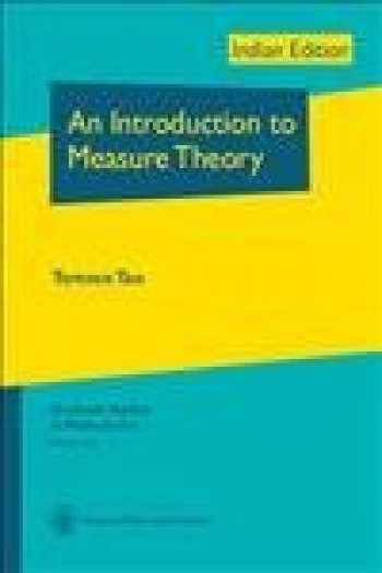 9781470409227-1470409224-An Introduction To Measure Theory
