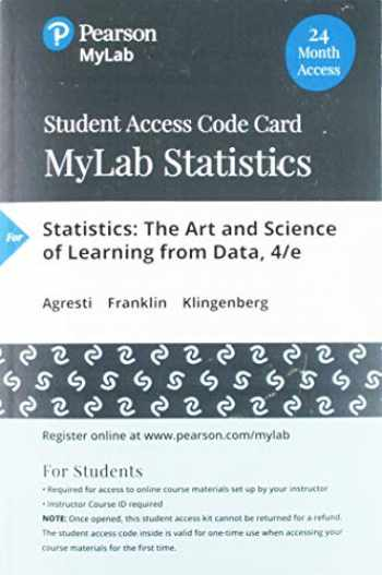 9780135834268-0135834260-MyLab Statistics with Pearson eText -- 24 Month Standalone Access Card -- for Statistics: The Art and Science of Learning from Data