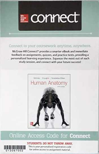 9781259923913-1259923916-Connect Access for Human Anatomy 5th Edition