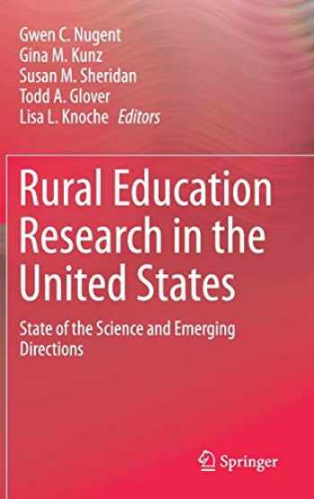 9783319429380-3319429388-Rural Education Research in the United States: State of the Science and Emerging Directions
