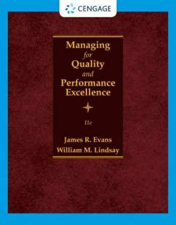 9780357442036-0357442032-Managing for Quality and Performance Excellence