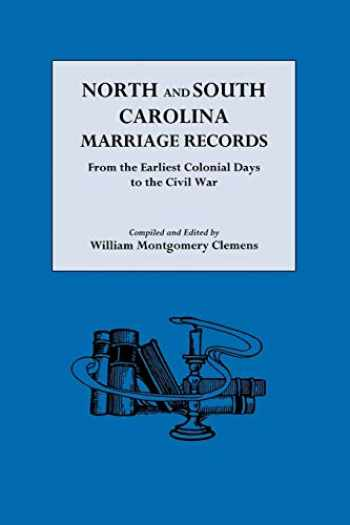 9780806305554-080630555X-North and South Carolina Marriage Records