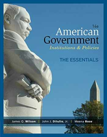 9781285195124-1285195124-American Government, Essentials Edition