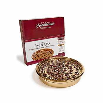 9780805485684-0805485686-Broadman Church Supplies Brass Tray & Disk, Holds 40 Cups