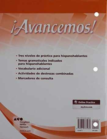 9780618782680-0618782680-¡avancemos!: Cuaderno Para Hispanohablantes (Student Workbook) with Review Bookmarks Level 1 (Spanish Edition)