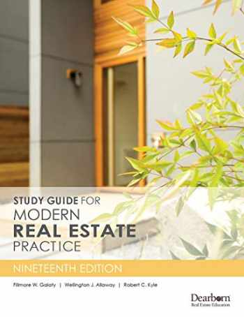 9781475421798-1475421796-Study Guide for Modern Real Estate Practice, 19th Edition