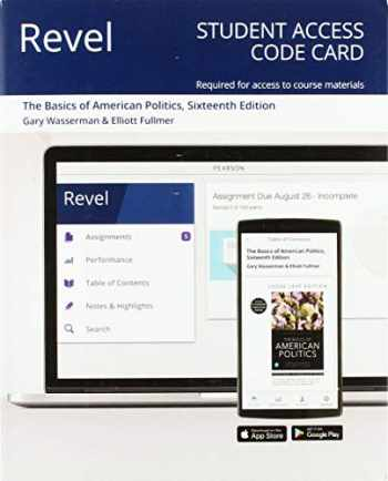 9780135215104-0135215102-Revel for The Basics of American Politics -- Access Card