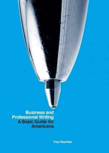 9781554813315-155481331X-Business and Professional Writing: A Basic Guide for Americans
