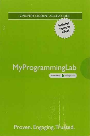 9780134381350-0134381351-Mylab Programming with Pearson Etext -- Standalone Access Card -- For the Practice of Computing Using Python
